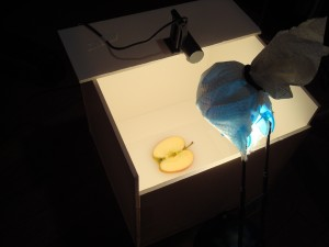 Making images of the apple