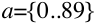 a=|_list_{0..89}