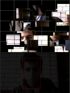 headtracking to select pieces