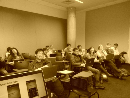 The entire SSUI class, looking surprisingly photogenic.