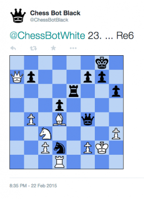 Chess Bot Black