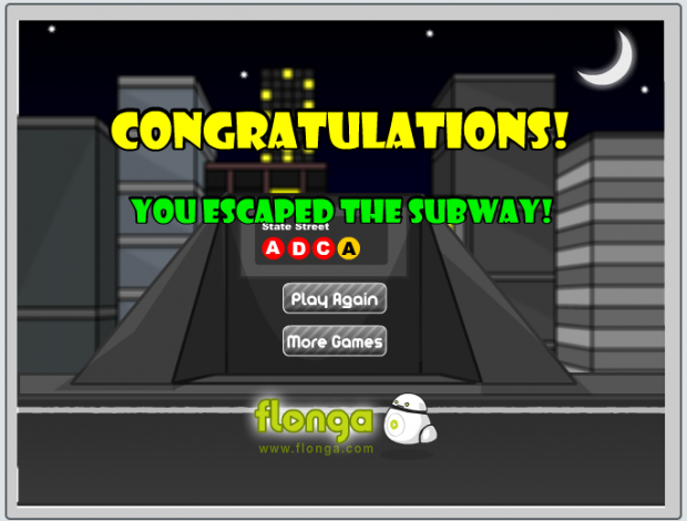 Bryce Beating Escape the Subway