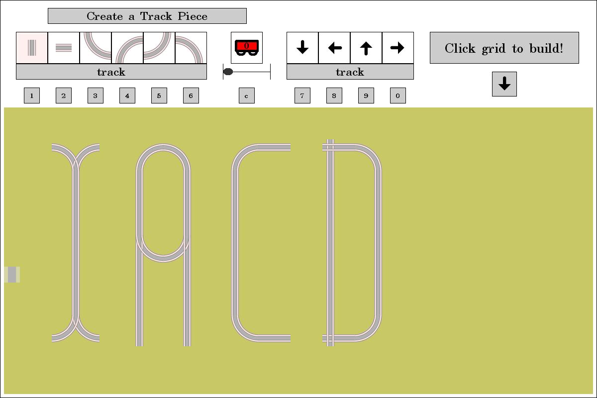 IACD Artistic track layout